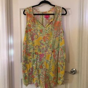 Lilly for Target Romper sz 2x
